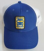 First State Brew Tours Delaware Adjustable Snapback Hat Cap Brewery Beer Blue