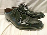 ALLEN EDMONDS CHARLESTON Lace-up Black Leather Dress Shoes MADE IN USA BLACK 10D
