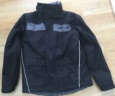 Boys Slazenger Black Fleece Lined Waterproof Jacket Size 10 years