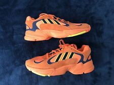 Adidas Yung 1 Total Orange Size 8.5 B37613 Goku Dragon Ball Z DBZ
