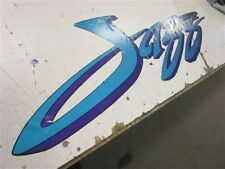 "BAYLINER DECAL TEAL / PURPLE / BLUE 46 3/4"" X 12 5/8"" MARINE BOAT"