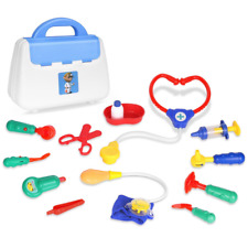 Zooawa Kids Toddlers Doctor Kits Pretend Play,Doctor / Nurse Set Role Play Toy