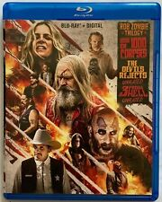 ROB ZOMBIE TRILOGY BLU RAY 3 DISC HOUSE OF 1000 CORPSES DEVILS REJECTS FROM HELL
