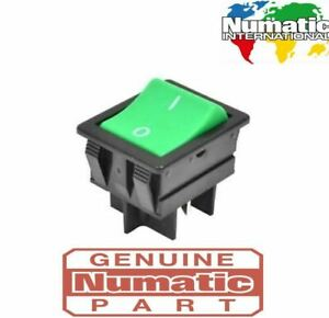 Genuine Numatic On/Off Switch Part 220582 Henry Hoover James Hetty & More Vacs
