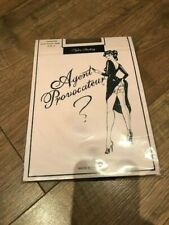 Agent Provocateur Champagne with Black Seam Stockings - Size A - BRAND NEW!