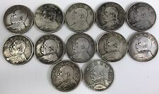"Twelve pieces of Chinese republic president ""Yuan Shi Kai"" coin (year 1-year10)"