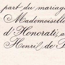 Jehanne ou Jeanne D'Honorati Les Angles Gard 1881 Henri Ferrar De Pontmartin