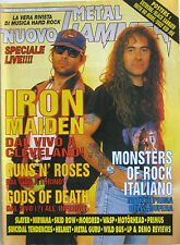 METAL HAMMER 8 1992 Iron Maiden Slayer Skid Row Motörhead WASP LSD Primus Helmet