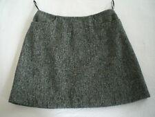 Dolce&Gabbana Minirock D&G Tweed 36 (it.42) schwarz/weiß A-Linie Mini Wolle