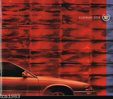 year 2000 CADILLAC ELDORADO Brochure / Catalog w/Color Chart: ETC, Touring Coupe
