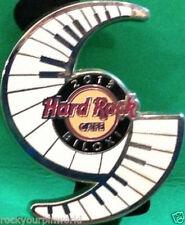 "Hard Rock Cafe BILOXI 2013 HURRICANE with PIANO KEYS & HRC Logo ""EYE PIN New Bag"