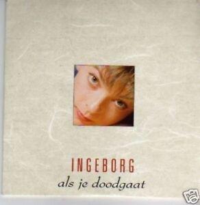 (343X) Ingeborg, Als Je Doodgaat - 1995 CD