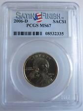 PCGS MS67 2006-D Sacagawea Gold Dollar Satin Finish