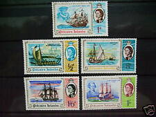 Pitcairn Islands 67-71,MLH. Discovery (Ships)