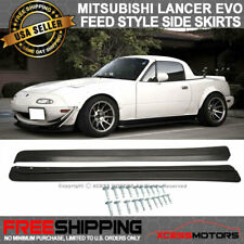 Fits 90-97 Mazda Miata Side Skirts F Style PU