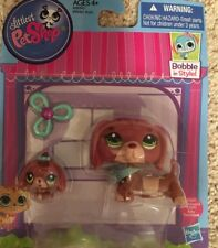 Littlest Pet Shop Figures Dachshund and Baby Dachshund #3601 #3602 Mommy & Baby