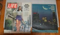 Moon Landing 1969 Life magazines & Chicago Tribune Moon Landing Guide