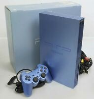 PS2 Console System SCPH-39000 AQUA BLUE Tested Playstation2 Boxed 5443341 NTSC-J