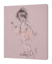 Hazel Bowman - Little Ballerina II - 30 x 40cm Canvas Print Wall Art WDC92781