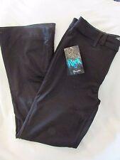 "Ladies ""Rock 47"" Size 29x34 Black, Wide Leg, Ultra Soft, Jeans Style Knit Pants"