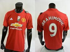 adidas Manchester United - Home Player Issue Shirt Patch 2016-17 IBRAHIMOVIĆ (L)