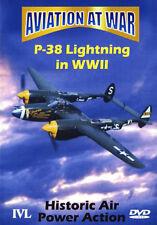 AVIATION AT WAR P38 LIGHTENING - DVD - REGION 2 UK
