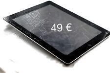 iPad 2 / 3 / 4  Display Glas Reparatur Touch schwarz / weiss