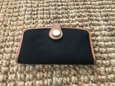 Dooney And Bourke Cabriolet Wallet RARE Canvas and Leather