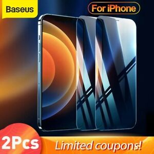 Baseus 2Pcs Tempered Glass For iPhone 13