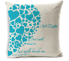 Cushion Cover Throw Pillow Case Hearts for Sofa Seat Bed Home Decor Almofada