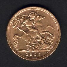 Australia.  1906 Sydney - Half Sovereign..  Much  Lustre..  gEF