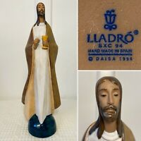 "Vtg Retired LLADRO #2366 Bread of Life Jesus Gres Stoneware Large 16.5"" Figurine"