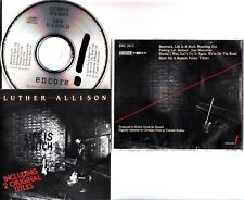 LUTHER ALLISON- LIFE IS A BITCH CD (1984 Rare Blues Guitar) Encore ENC 131