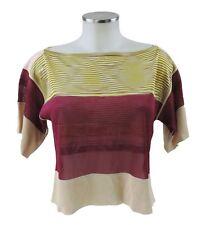 Missoni Pullover 40 (I) 34 36 (D) Rayon Kashmir Strick Shirt bunt neu