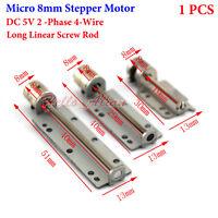 DC 5V 2-Phase 4-Wire Mini 8mm Stepper Motor 30mm 40mm 51mm Linear Lead Screw DIY