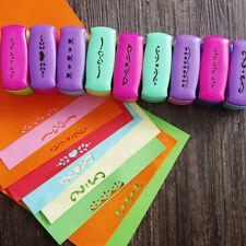 Lots Paper Shaper Crafts DIY Printing Hole Mini Punch Scrapbooking Tool Set