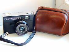 VILIA AUTO Soviet 35mm compact film camera MMZ w/s case (Excellent condition)