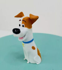 The Secret Life Of Pets Movie MAX Jack Russell PVC Figure Cake Topper Toy 039