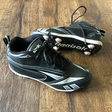new arrival c9a63 75b1d Reebok Kids  Baseball Cleats Black Size 3Y