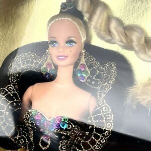 Barbie Doll Midnight Gala Classique Collection Black Sequin Gown 4th LE Edition