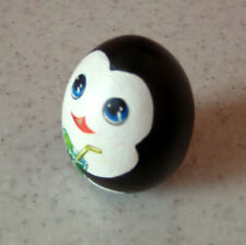 The penguins of Madagascar. Penguin Private. Hand-painted egg