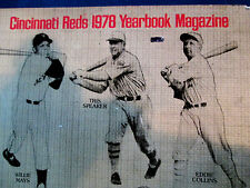 1978 CINCINNATI REDS YEAR BOOK MAGAZINE