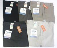 Men's Dockers Best Pressed Signature Khaki Straight Fit Flat Front Cotton Pants