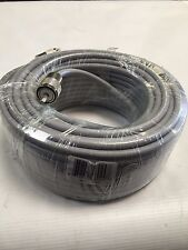 75FT RG-8x COAX COAXIAL HAND SOLDER CABLE w/ MALE PL-259 CB HAM RADIO RG8 NEW!
