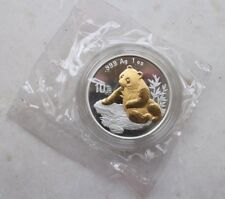 China 1998 Silver 1oz Panda Coin - Beijing Coin Exposition '98