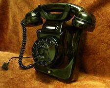 Jubiläum! 60! W49 altes Telefon Bakelit Wandtelefon TI-WA Telephone restauriert!