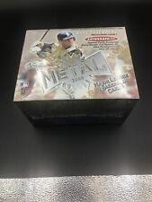 2000 Fleer Skybox Metal Baseball Factory Sealed Hobby Box