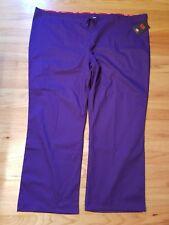 Dickies Scrubs Pants Unisex fit Eds Drawstring Pant Uniform womens 4Xl purple