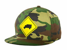 TRUKFIT TRUCKSTOP CAMO SNAPBACK FLATBILL HAT/CAP - OSFM