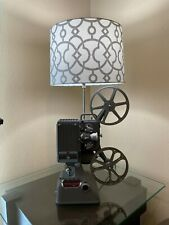 Movie Projector Table Night Lamp Vintage